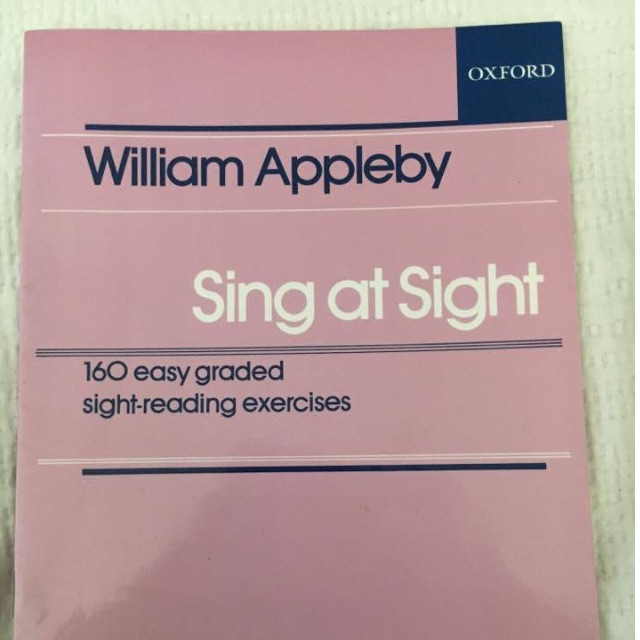 RRP $19.95 Brand New Sing at Sight Book - William Appleby