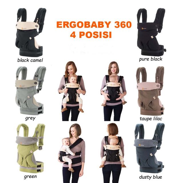 SALE! Gendongan Ergobaby 360 Four Position