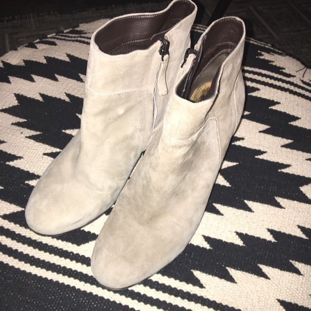 Sam Edelman Boots In Grey/Taupe
