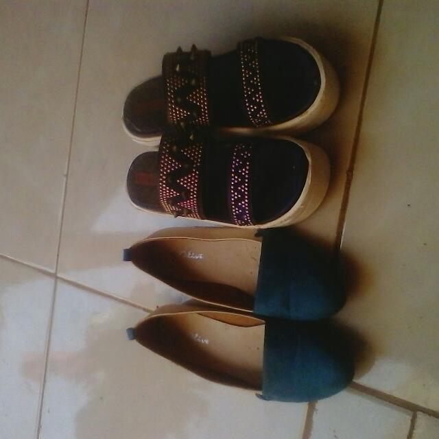 Sepatu & Sandal Take All