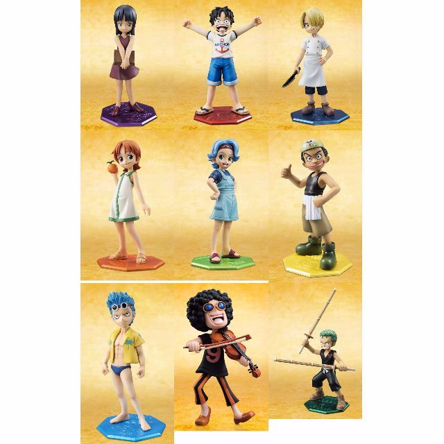 (Set of 16) One Piece P.O.P Mild Series