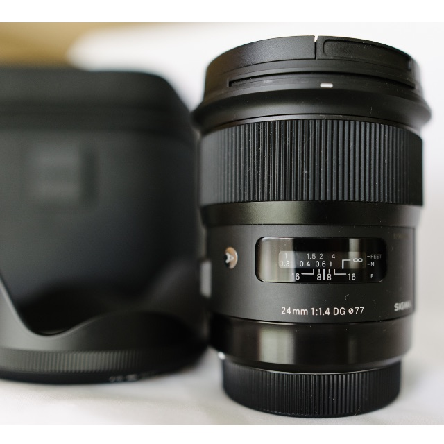 Sigma 24mm F1.4 DG HSM Art Series Lens