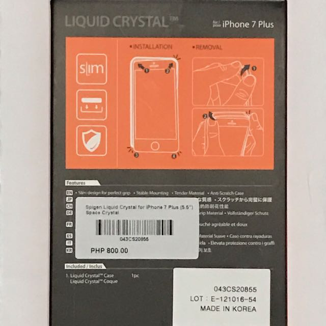 Spigen Liquid Crystal Case