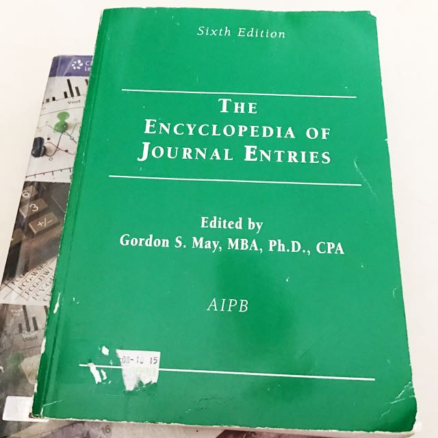 The Encyclopedia Of Journal Entries