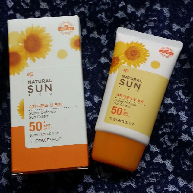 The FACESHOP Sun Cream