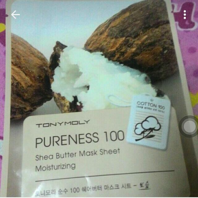 Tony Moly Shea Butter Mask