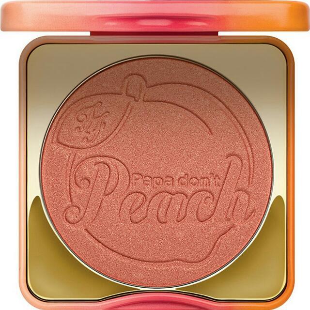 [正品保證~一週內到貨]Too faced 水蜜桃腮紅 papa don't peach blush