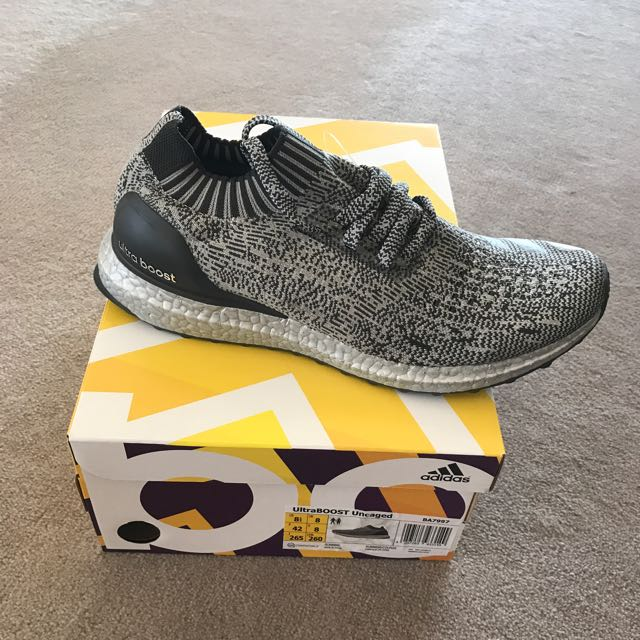 Ultra Boost Uncaged Silver Boost US8.5