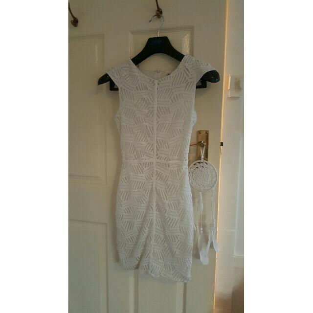 *REDUCED* White Lace Dress