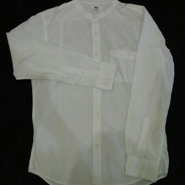 White Blouse By Uniqlo