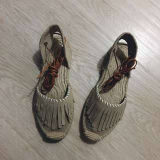 Soludos 綁帶鞋