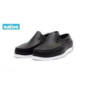 整月1212 加拿大Native HOWARD 男/女 洞洞鞋/雨鞋/沙灘鞋/凉鞋 現貨:黑37/深藍42