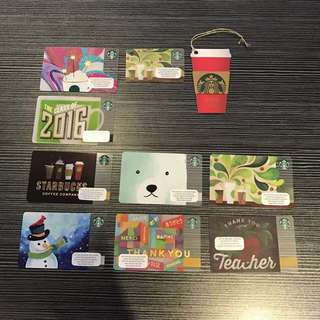 Starbucks Card Kartu Cards Mug Tumbler