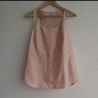 Tailor Made Pink Silk Top