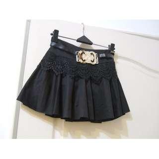 07黑短裙(有底褲)
