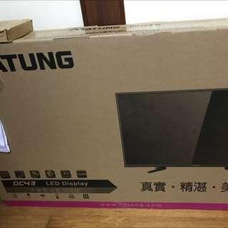 大同LED液晶電視 43DC50A