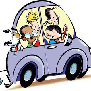 Carpooling (Morning And Night)