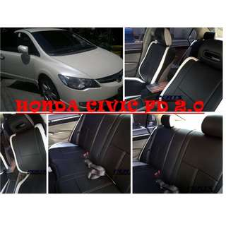 Honda Civic High quality Factory Fit Customized Leather CAR SEAT COVER