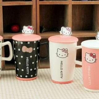 Kitty / 多啦A夢 卡通陶瓷水杯