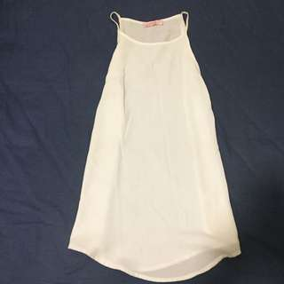 White Summer Top Size 6
