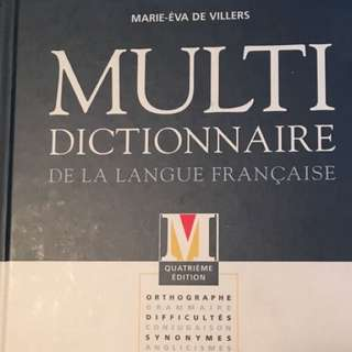 Multi dictionaire (French)