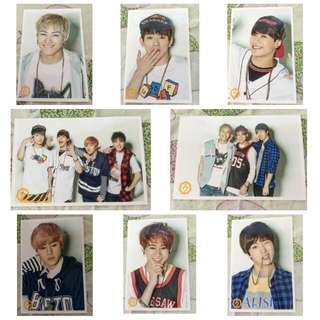 GOT7 Pure Season 2 Official Photocard JB/BamBam/Jackson/Jr/Mark/Youngjae/Yugyeom/Group