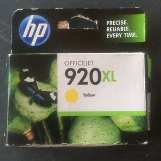 HP 920xL Office jet YELLOW INK CARTRIDGE
