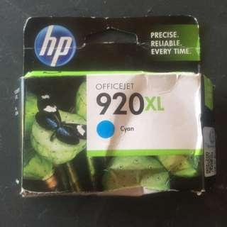 HP 920xL Office jet BLUE INK CARTRIDGE