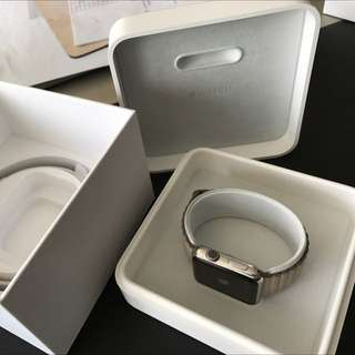 Apple Watch 42mm STAINLESS STEEL With FREE bands