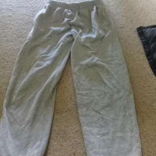 Black And Grey Sweat Pants, Jeans