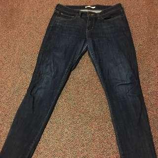 Blue Levi's Skinny Jeans