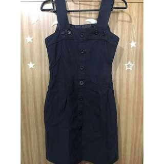 Topshop Black Dress