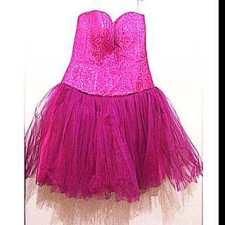 For Rent Pink Gown