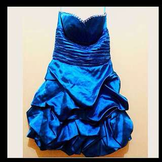 For Rent Blue Gown