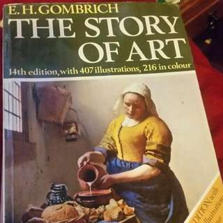 The Story Of The ART book E.G. Gombrich