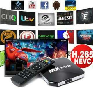XCSource MX-Pro Quad-Core Android TV Box EU Plug