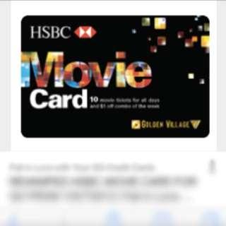 HSBC All Day Movie Card