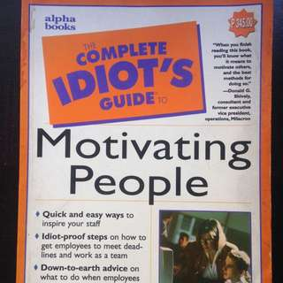 Motivating People (Idiot's Guide)