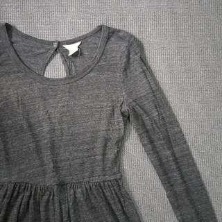 FOREVER 21 • Gray Long Sleeves Dress