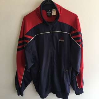 Vintage Adidas Zip Up Windbreaker L