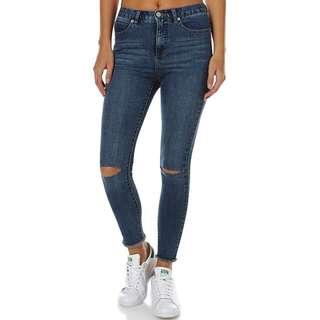 RVCA Skinny Crop Jeans