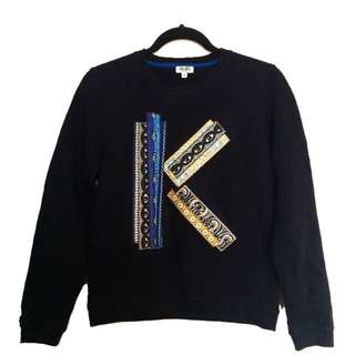 Kenzo Paris Temple Eye Brocade K Sweater