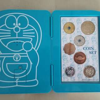 Doraemon 35th Anniversary Coins Set