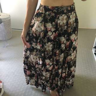 Maxi Skirt Size We Valley Girl