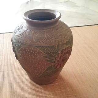 Pots (Two) Terracota