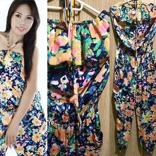 Jump Suit(floral)