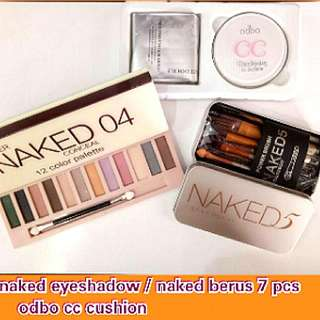 Naked makeup set combo
