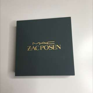 Limited Edition Zac Posen Mac Eyeshadow Palette