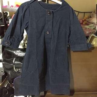 Preloved Navy Dress