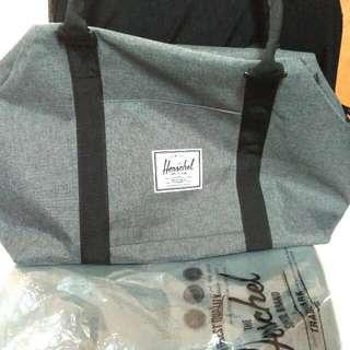 authentic new Herschel duffel bag